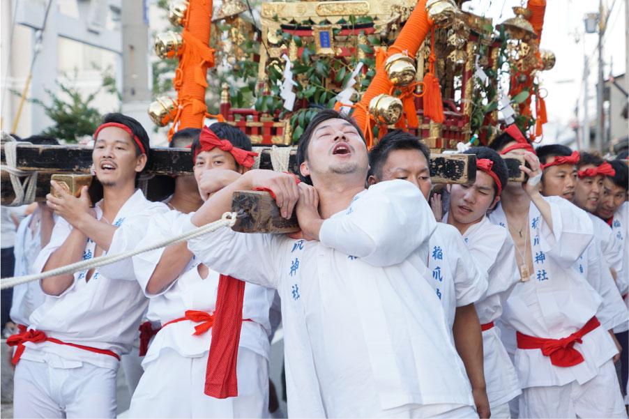 稲爪神社秋例大祭